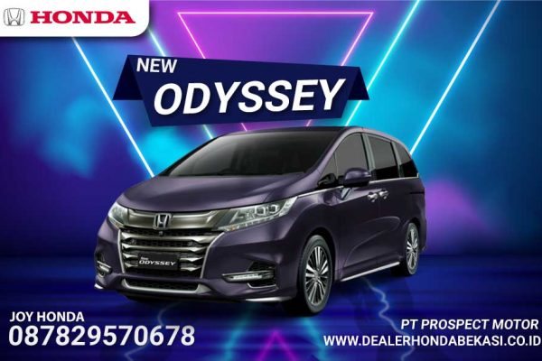 All New Honda Odyssey